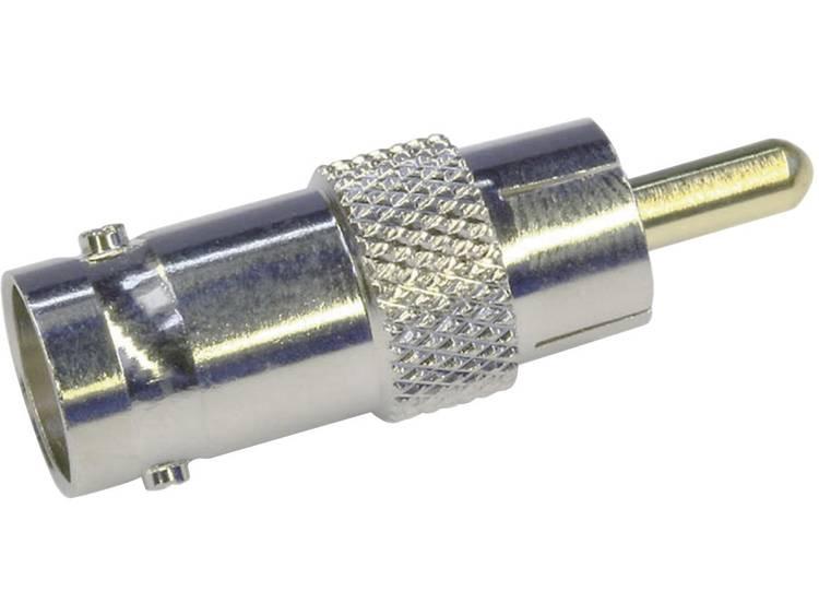 Telegärtner J01008A0838 Cinch-stekker BNC-adapter BNC-bus 1 stuks
