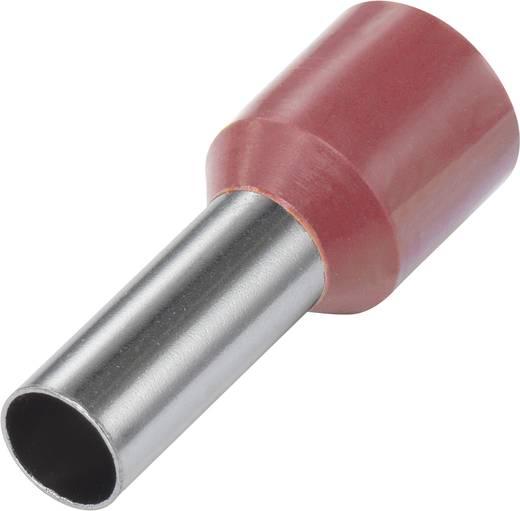 Vogt Verbindungstechnik 460408 Adereindhulzen 1 x 1.50 mm² x 8 mm Deels geïsoleerd Rood 100 stuks