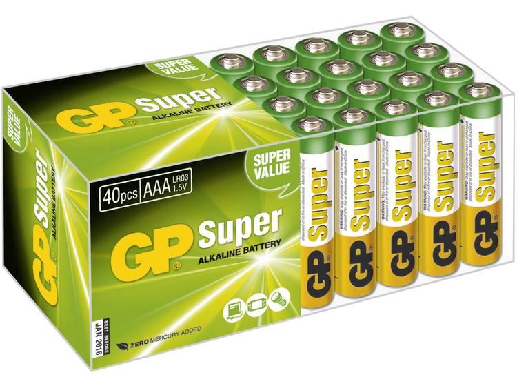 GP Batteries Super Alkaline AAA
