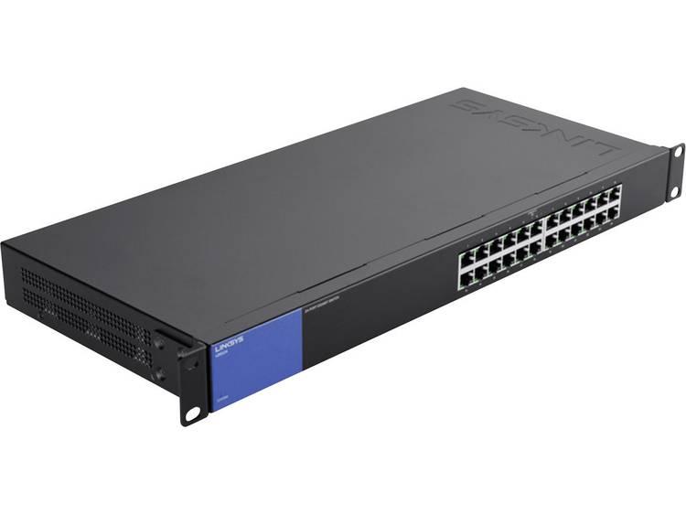 Linksys LGS124 Netwerk switch RJ45 24 poorten 1 Gbit/s