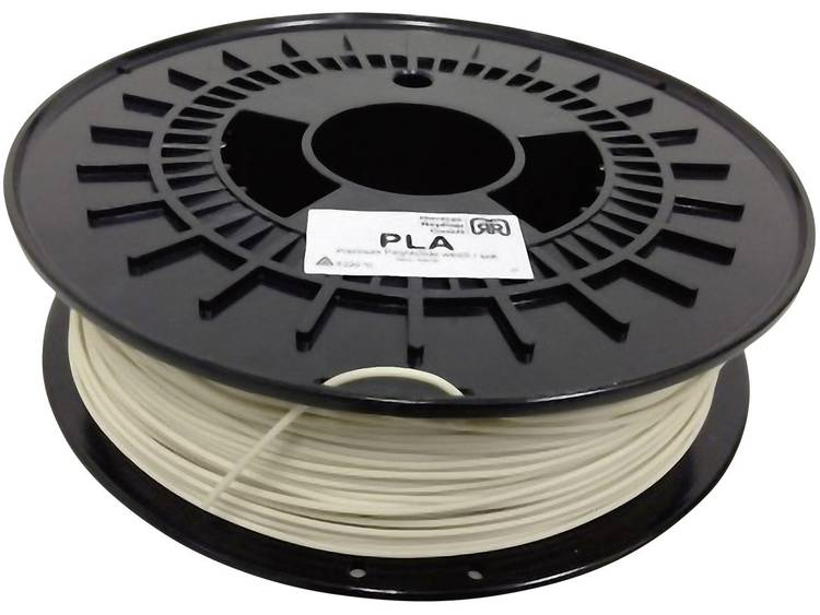 German RepRap 1.75 mm PLA kunststof Filament Naturel (zacht) 750 g