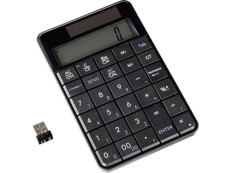 Ultron UN-1 USB numeriek toetsenbord Display Zwart