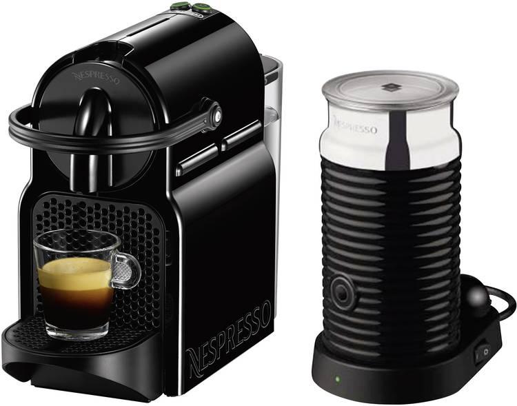 Image of DeLonghi Inissia&Milk EN 80.BAE Capsulemachine Zwart met Aeroccino
