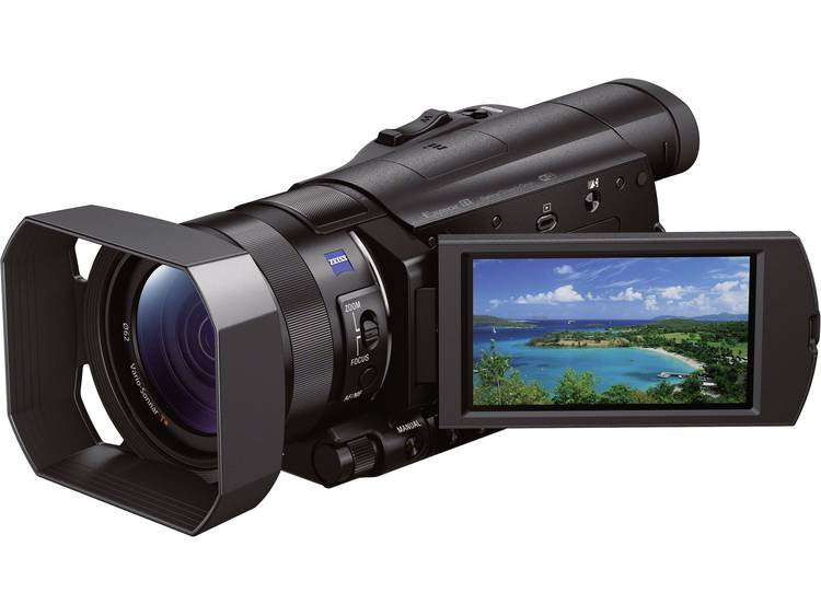 Sony FDR-AX100E Camcorder 8.9 cm 3.5 inch 20.9 Mpix Zoom optisch: 12 x Zwart