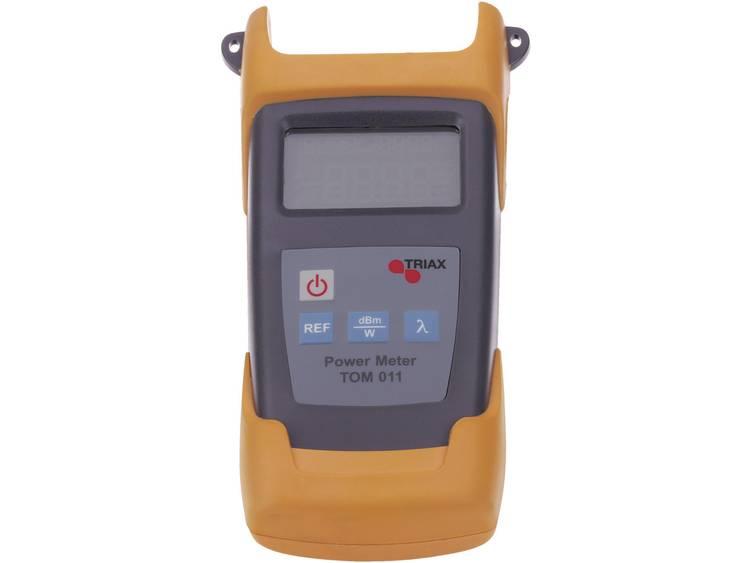 Triax TOM 011 Optische meter kabeltestapparaat kabeltester