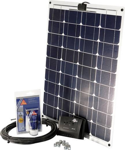 Solarset SM 45L Sunset 45 Wp Incl. aansluitkabel, Incl. laadregelaar, Geschikt voor camper en boot