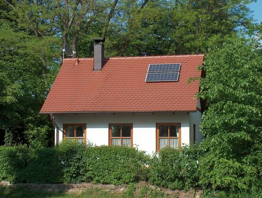 Sunset solarset Polykristallijne zonne-energieset 230 V 110274 Vermogen 55 Wp Nominale spanning 17,1 V