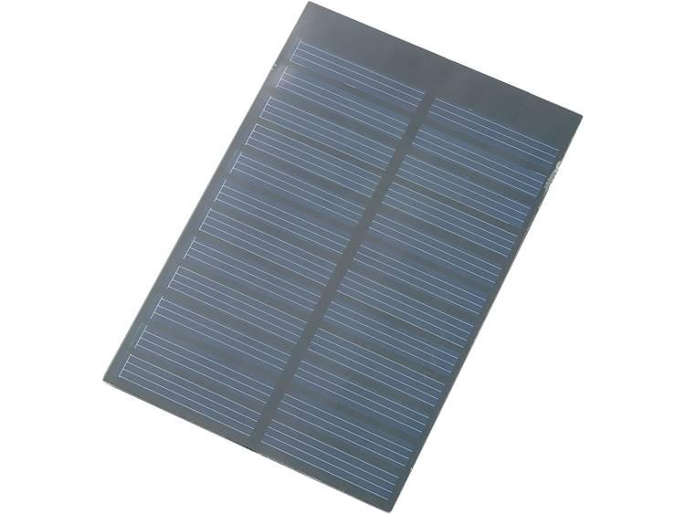 CE Polykristallijn zonnepaneel 0.9 Wp 6 V