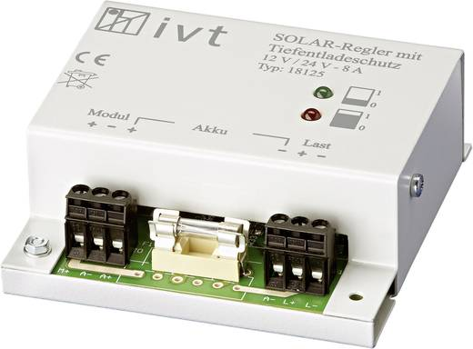 IVT 200001 Solar laadregelaar 12 V, 24 V 8 A