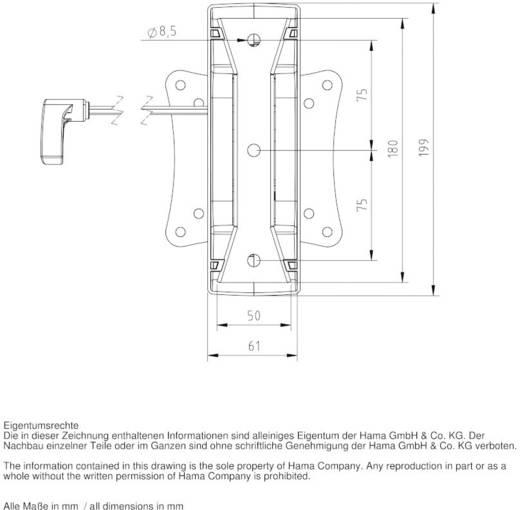 """Hama TV-wandhouder Motion, 25,4 - 66 cm (10"""" - 26"""") wit"""