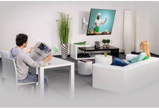 "TV-beugel Hama FULLMOTION ""Ultraslim"" XS 1 Arm 25,4 cm (10"") - 66,0 cm (26"") Kantelbaar en zwenkbaar, Roteerbaar"