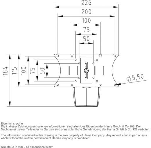 """Hama FULLMOTION """"Ultraslim"""" TV-beugel 25,4 cm (10"""") - 81,3 cm (32"""") Kantelbaar en zwenkbaar"""