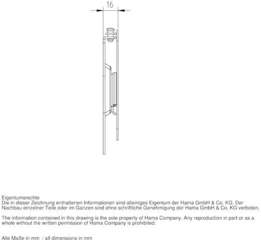 """TV-beugel Hama FIX """"Ultraslim"""" XS 25,4 cm (10"""") - 66,0 cm (26"""") Vast, Roteerbaar"""