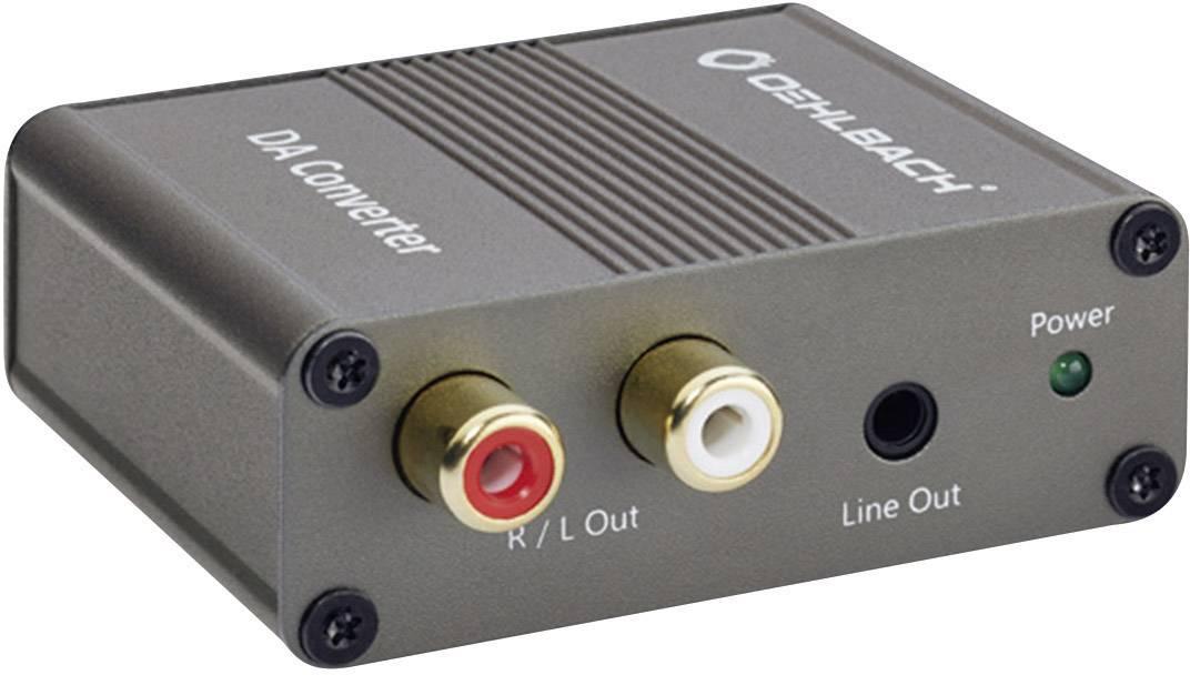Super Oehlbach Audio Converter DA Converter [Toslink, Digitale cinch YW-88