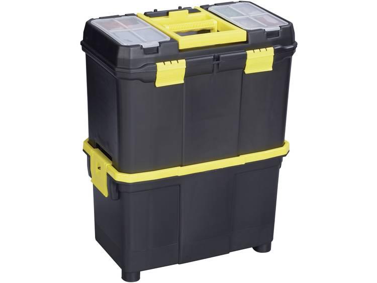 Alutec 56350 Gereedschapsbox Kunststof Zwart, Geel kopen