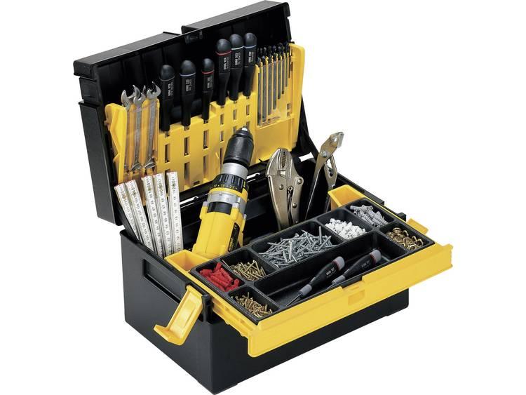 Alutec 56550 Gereedschapskist (leeg) Kunststof Zwart, Geel kopen