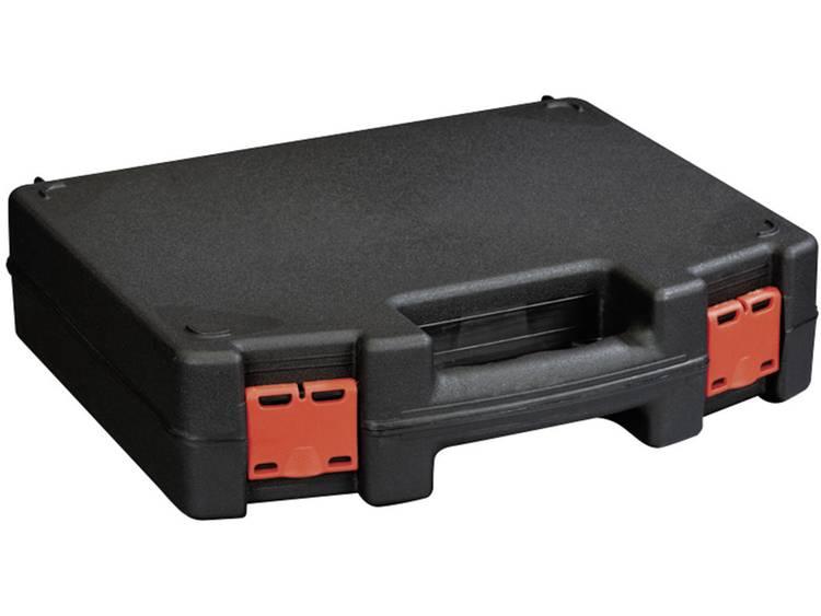 Alutec 56635 Gereedschapskist (leeg) Kunststof Zwart, Rood kopen