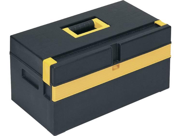 Alutec 56560 Gereedschapskist (leeg) Kunststof Zwart, Geel kopen