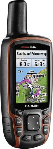 Garmin GPSMAP 64S Outdoor navigatie Fietsen, Geocaching, Wandelen Wereld GPS, GLONASS, Spatwaterdicht