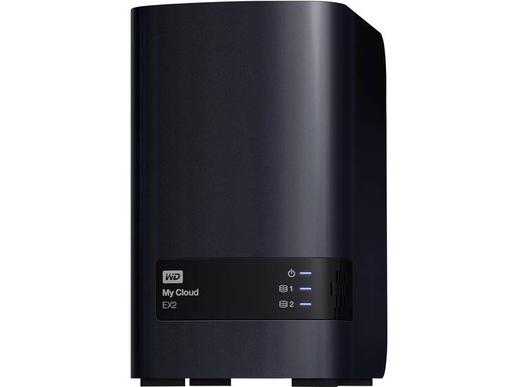 Western Digital My Cloud⢠EX2 Ultra WDBVBZ0160JCH-EESN NAS-server 16 TB Business Cloud
