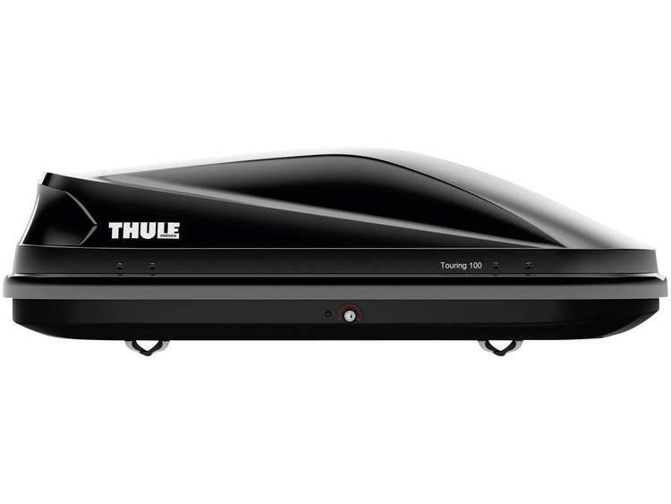 Thule Touring 100 Black Glossy dakkoffer 330 l Zwart (glanzend)