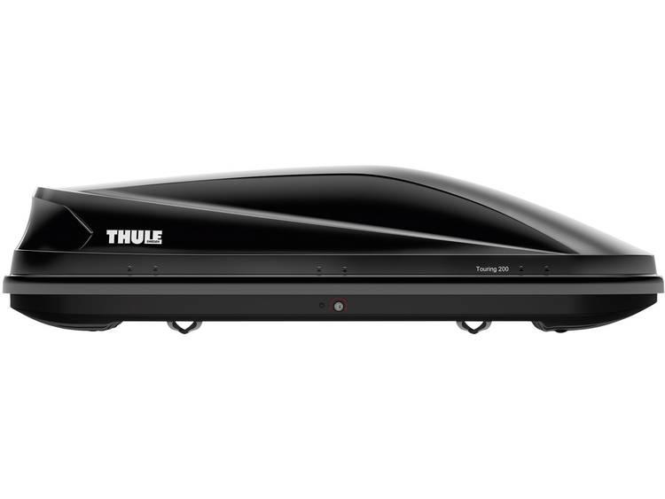 Dakkoffer Thule Touring M 200 black glossy 400 l Zwart (glanzend)