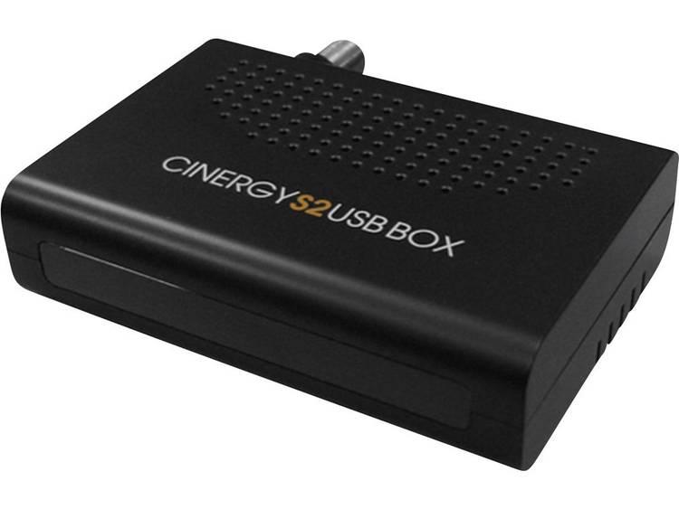 DVB-S TV USB-ontvanger Terratec Cinergy S2 BOX Met afstandsbediening, Opnamefunctie Aantal tuners: 1