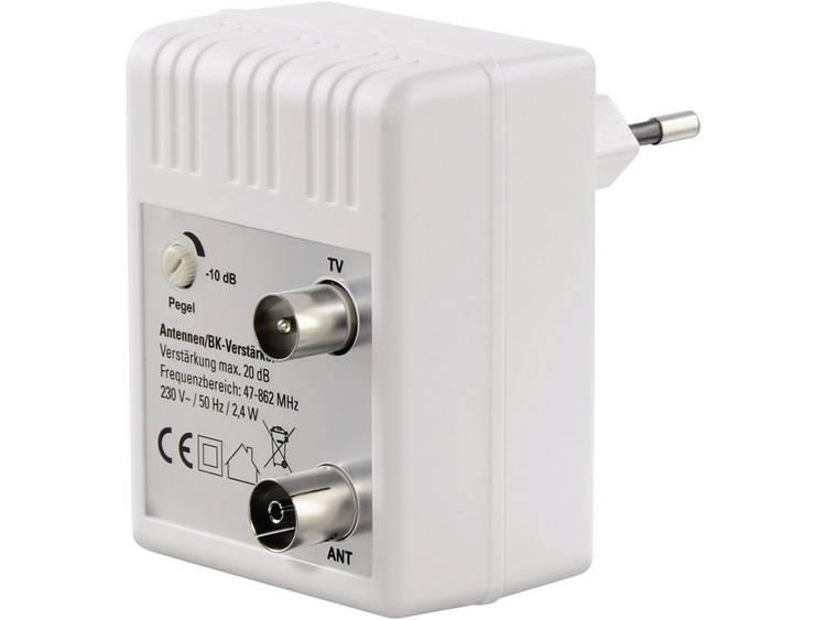 Antenneversterker BK.20 dB regelbaar