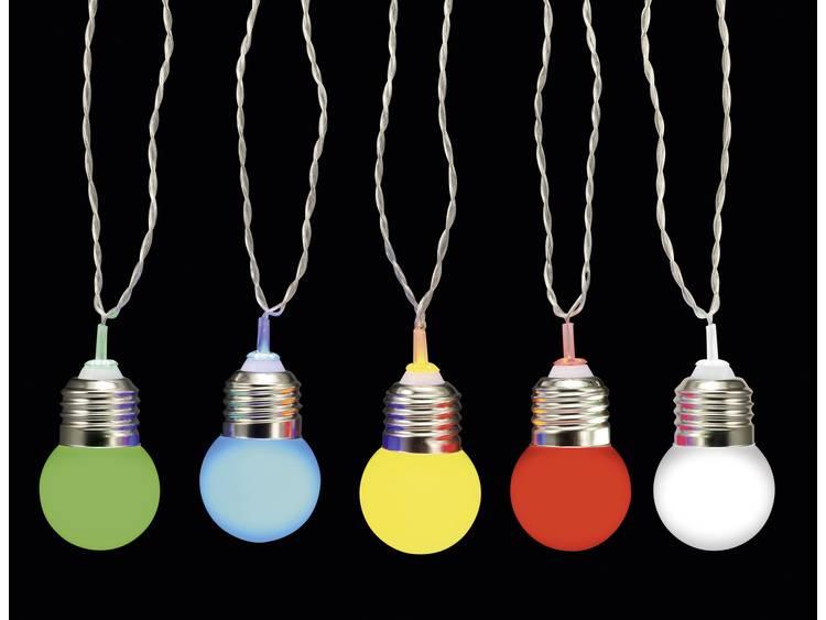 Party-lichtketting Buiten Werkt op het lichtnet 10 LED