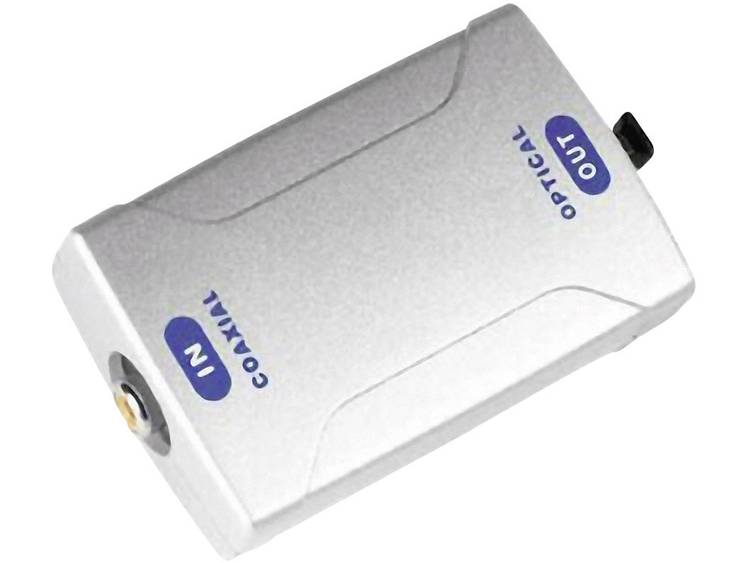 Digitale converter, coax IN-optisch UIT ODT (Toslink)