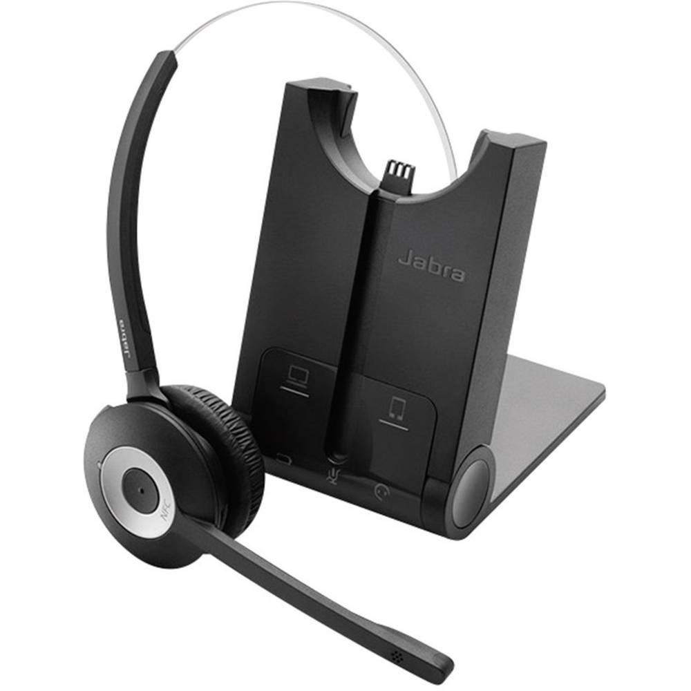 Jabra Pro 935 Telefon-Headset Bluetooth Sladdlöst, Mono On-ear Svart, Silver