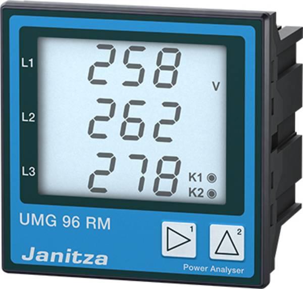 Bekend Digitaal inbouwmeetapparaat Janitza UMG 96 RM-EL Universeel PU59