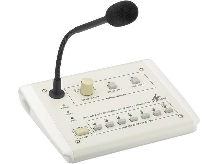 Monacor PA-6000RC ELA-commando-tafelmicrofoon