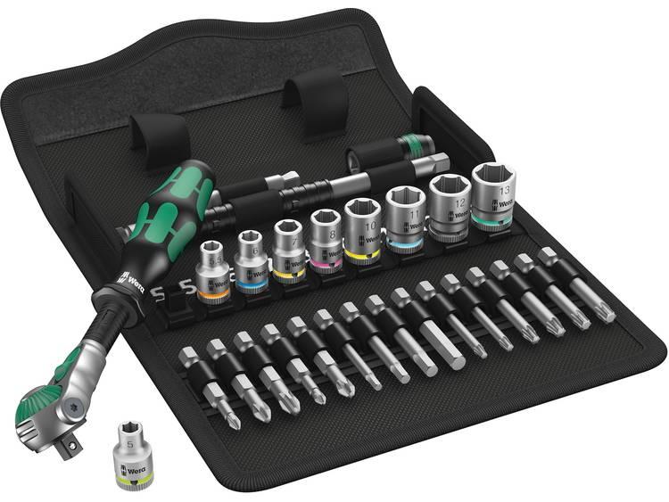 Wera 8100 SA Zyklop Speed-dopsleutelset 1-4 (6,3 mm) 05004016001