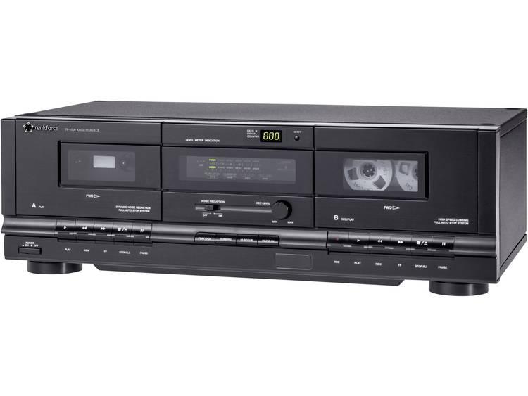 Renkforce TP-1000 cassettespeler, Zwart
