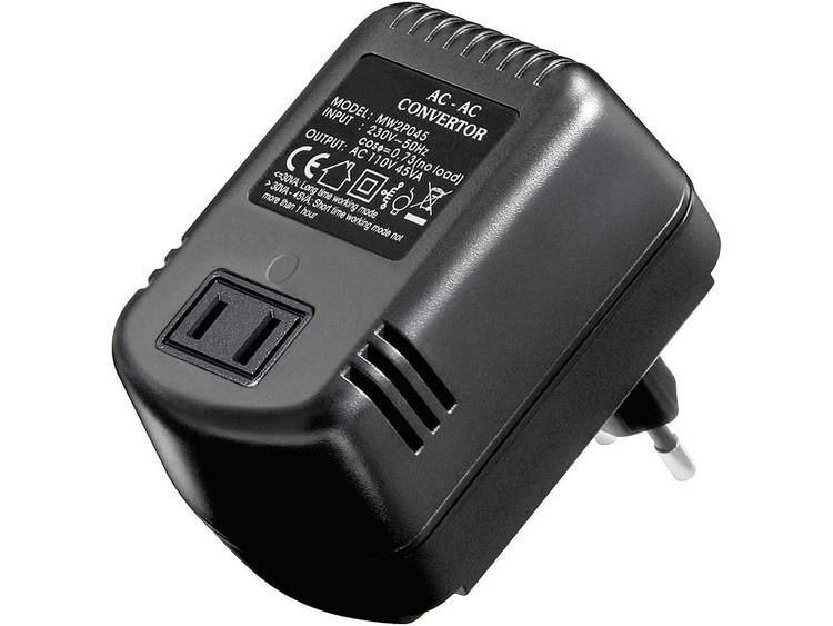 Microconnect voltage converter AC-AC 45 W (PETRAVEL4C)