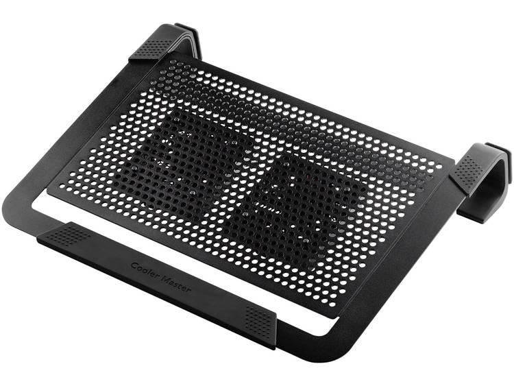 Cooler Master Notepal U2 Plus Laptop cooling-pad Regelbare ventilator