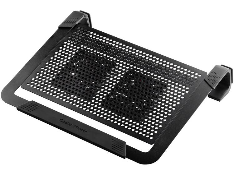 Cooler Master Notepal U2 Plus Laptop cooling-pad Regelbare ventilator