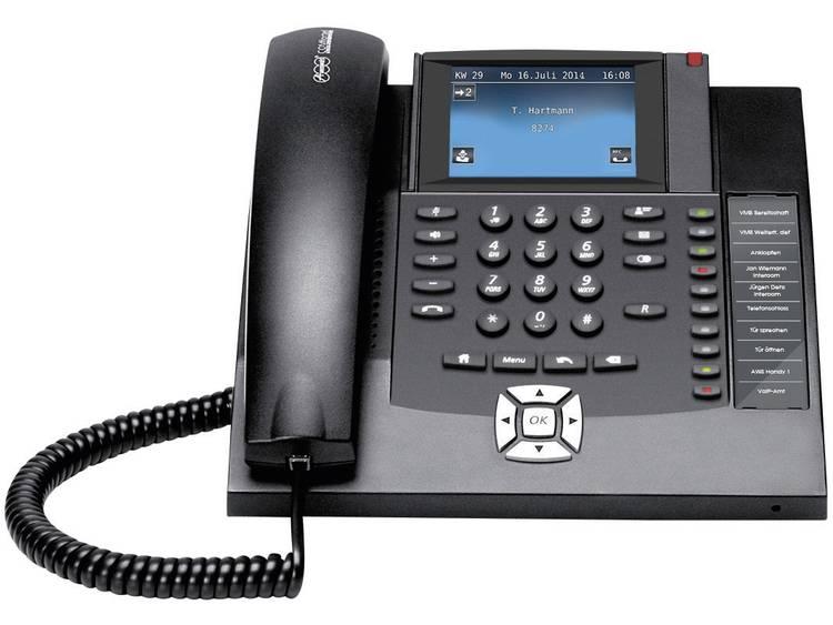 Auerswald COMfortel 1400 ISDN systeemtelefoon Kleuren touchscreen Zwart