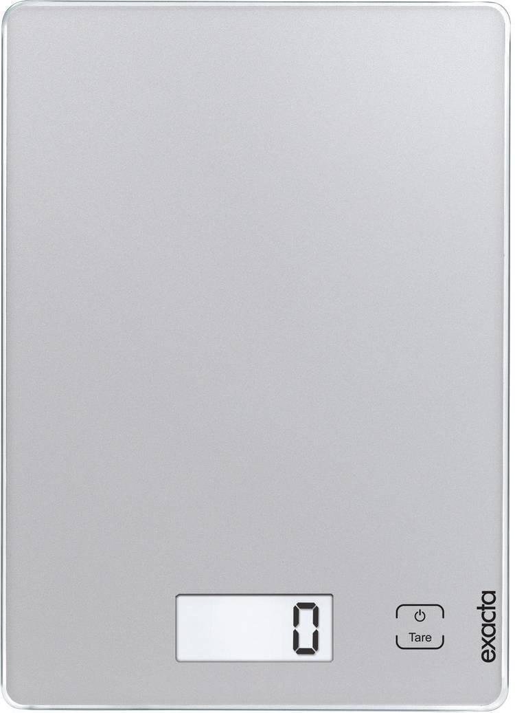 Digitale keukenweegschaal Digitaal Soehnle Exacta Touch Weegbereik (max.)=5 kg Zilver