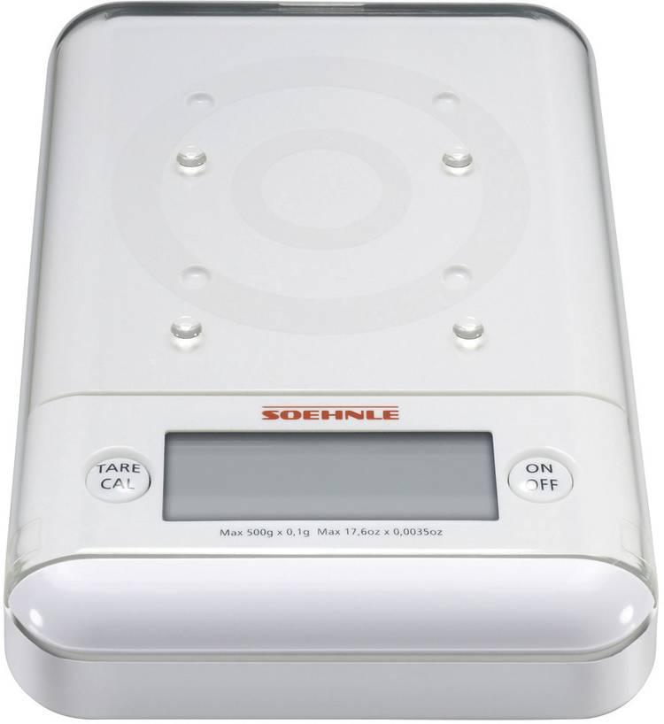 Image of Digitale keukenweegschaal Digitaal Soehnle Ultra 2.0 Weegbereik (max.)=500 g Wit