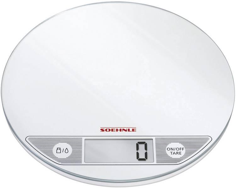 Image of Digitale keukenweegschaal Digitaal Soehnle Flip Weegbereik (max.)=5 kg Wit