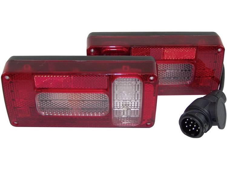Gloeilamp Verlichtingsset Achteruitrijlicht, Remlicht, Knipperlicht, Mistachterlicht, Achterlicht achter 12 V Berger Schröter