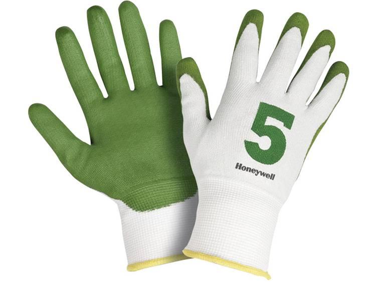 Honeywell 2332545-08 Snijvaste veiligheidshandschoen Check & Go Green PU 5 Dyneema, polyamide en com