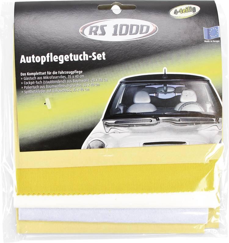 Image of RS 1000 30161/15:RS1000 Auto-onderhoudsdoekenset 4 onderdelen