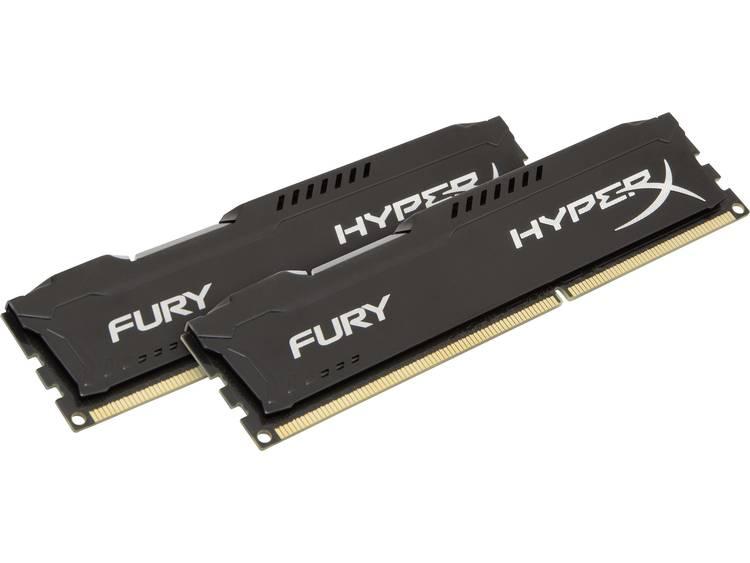 HyperX HyperX Fury Black HX313C9FBK2/16 16 GB DDR3-RAM PC-werkgeheugen kit 1333 MHz 2 x 8 GB