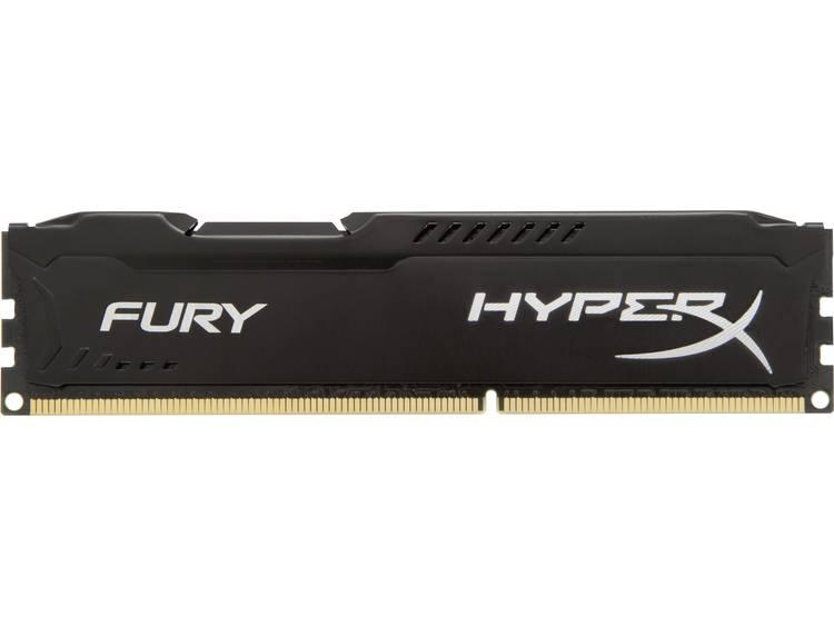 HyperX HyperX Fury Black HX318C10FB/8 8 GB DDR3-RAM PC-werkgeheugen module 1866 MHz 1 x 8 GB