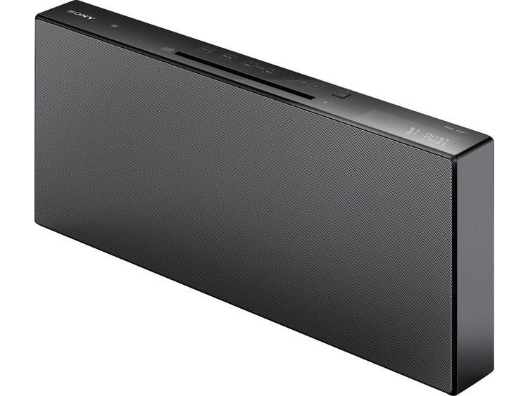 Sony CMT-X5CDB Stereoset AUX, Bluetooth, CD, DAB+, NFC, FM, USB 2 x 20 W Zwart