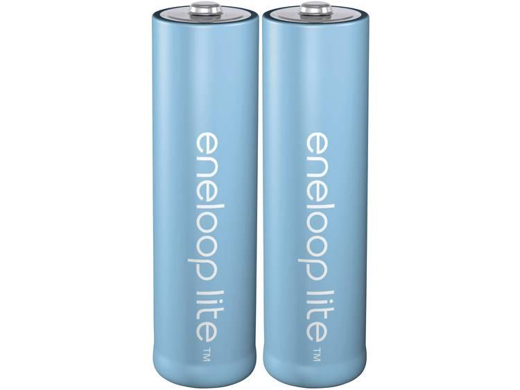 Panasonic eneloop Lite HR06 Oplaadbare AA batterij (penlite) NiMH 900 mAh 1.2 V 2 stuk(s)
