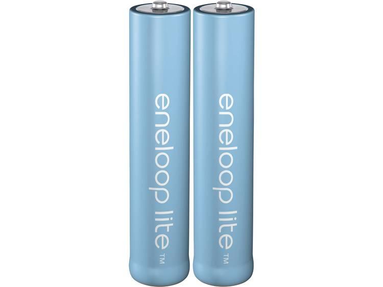 Oplaadbare AAA batterij (potlood) Panasonic eneloop Lite HR03 NiMH 550 mAh 1.2 V 2 stuk(s)